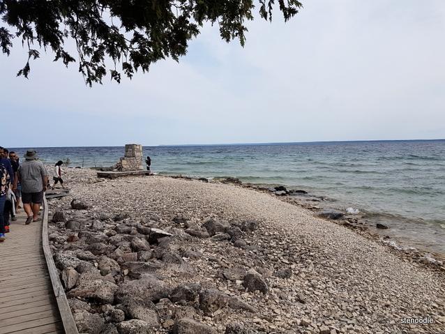 Flowerpot Island beach