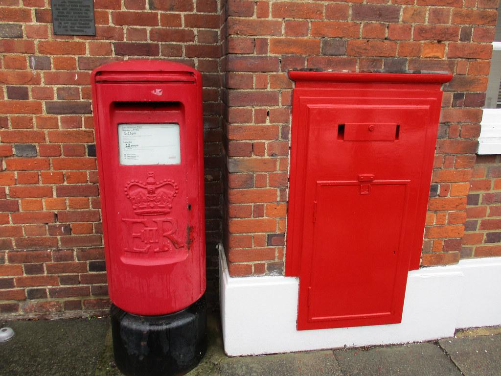Classic UK Post Box