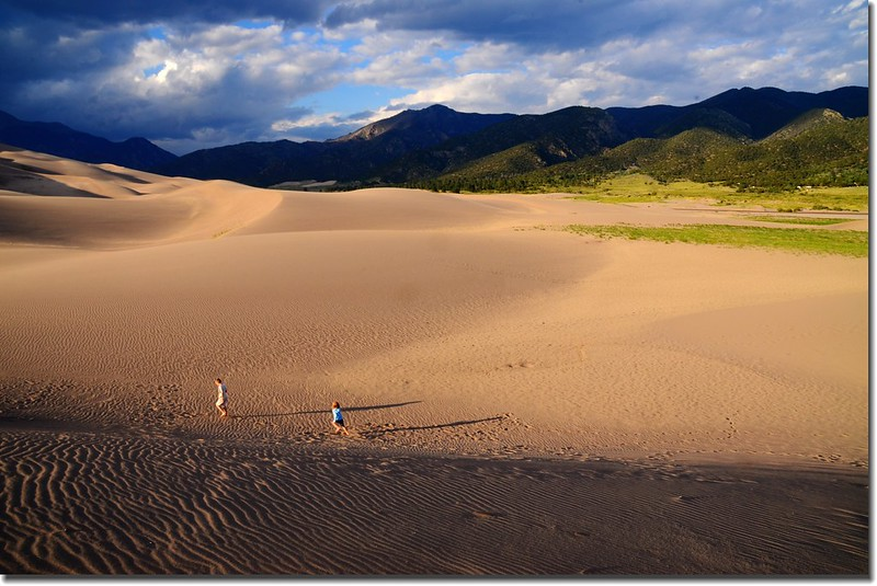 Dusk at Great Sand Dunes National Park  (12)