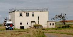 The former WW2 Control Tower at Dunkeswell
