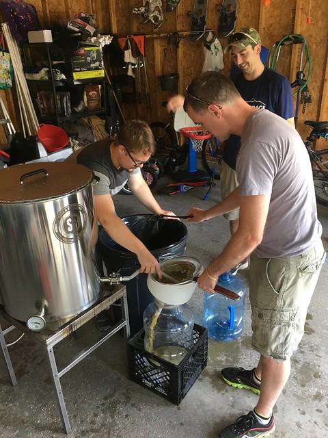 Medusa IPA brew day