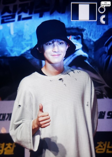 170807 Chanyeol at 'Midnight Runners' Movie VIP Premiere
