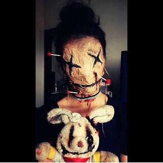 Awsome Halloween Makeup  Makeup by @claudiakellen