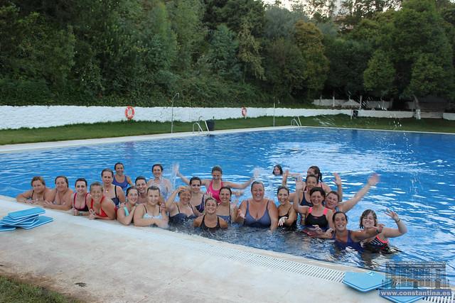 Aguagym mujeres verano Constantina 2017