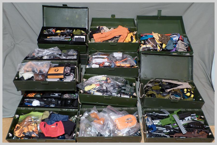 Locker Boxes Full of Mixed Items 36492781481_96c413b6b1_o