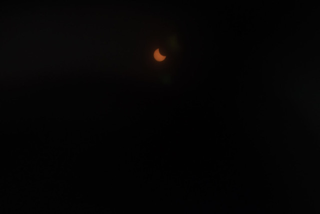 Solar Eclipse at Priory, 8/21/17