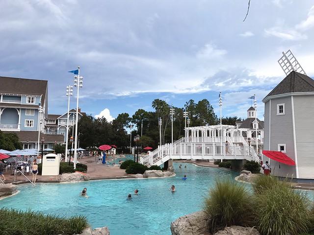 Disney- day 1 at beach club resort
