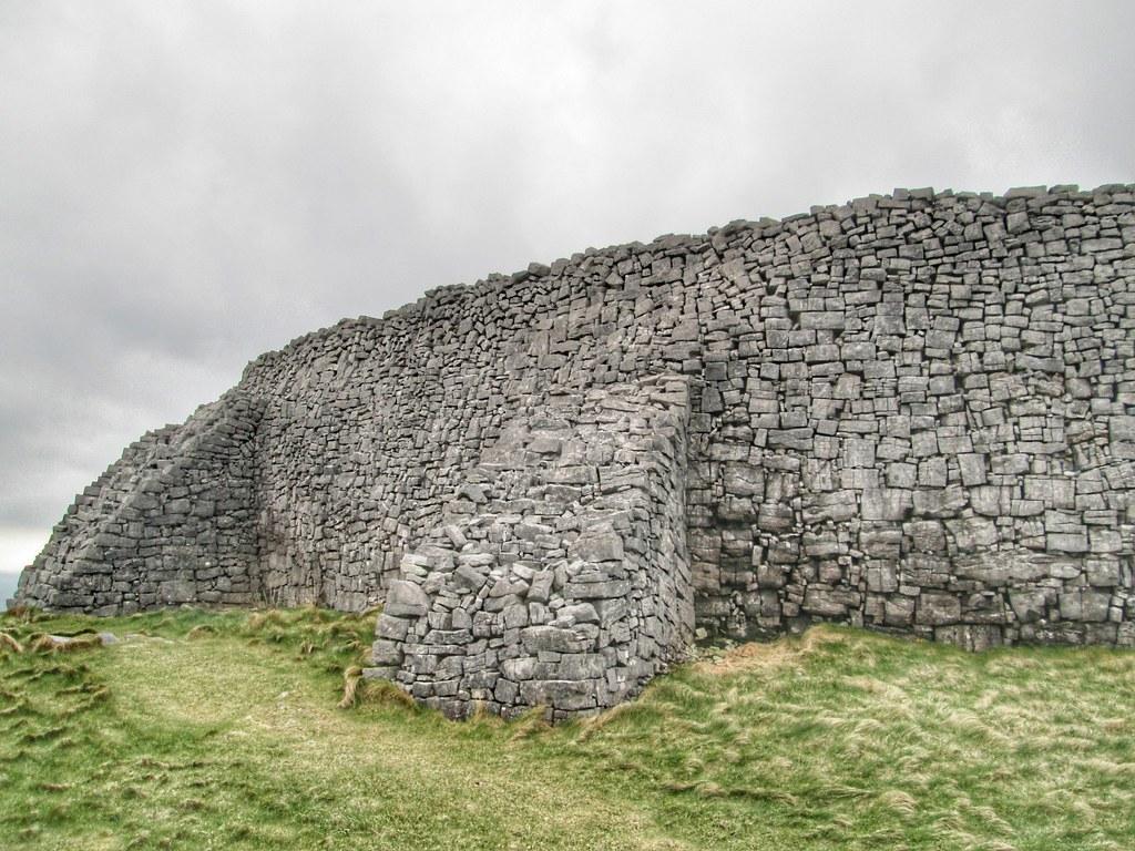 Aran Islands Inis Mor Dun Aonghasa wall