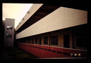 東北タイ農業開発研究センターの実験棟