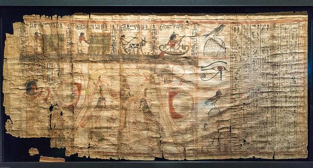 Mythologische Papyrus van Paser