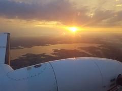 Texas sunrise over Lake Grapevine