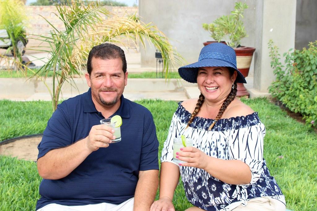 Lime Margaritas #AgaveroOrange and Gran Centenario Tequila