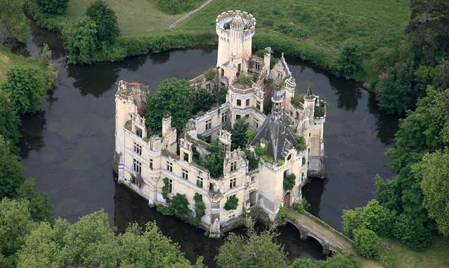 france, castle