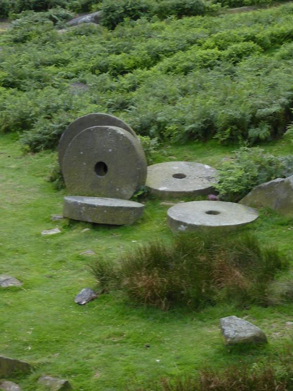 Millstones, Cowper Stone Sheffield to Bamford walk
