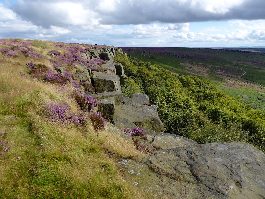 Burbage Rocks Sheffield to Bamford walk