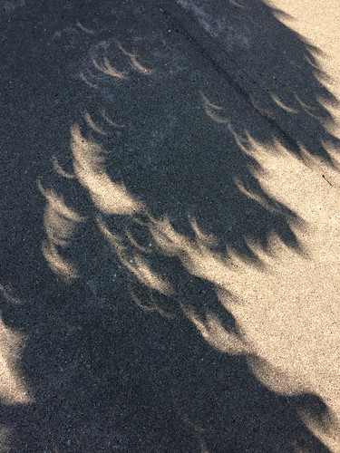 More eclipse shadows.