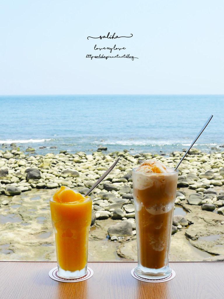新北金山北海岸海景餐廳推薦洋荳子海邊咖啡館 (28)