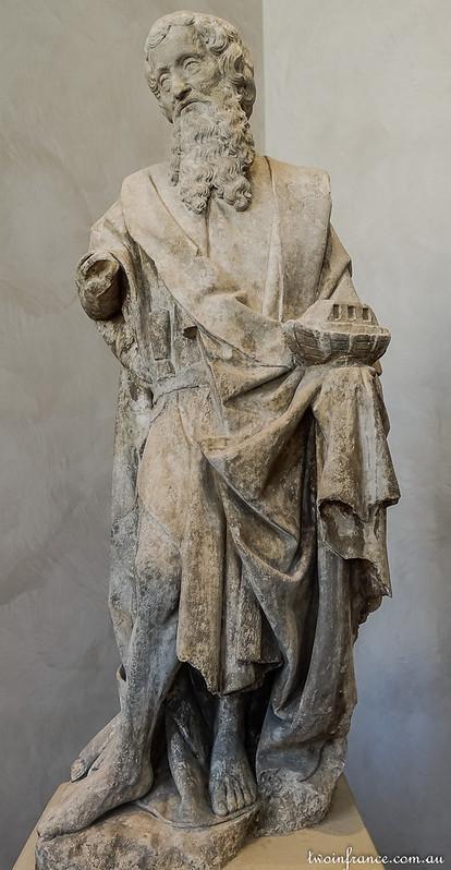 Noah; Burgundy, early 15th century; limestone