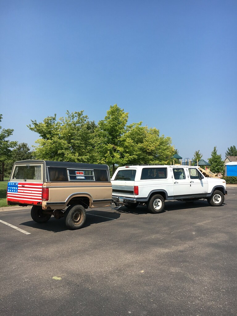 Pick Up Bed Camper Conversion Ford Bronco Forum