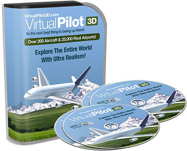 VirtualPilot3D - Real Life Flight Simulator VIP Deluxe Editi... VirtualPilot3D - Explore The Entire World With Ultra Realism