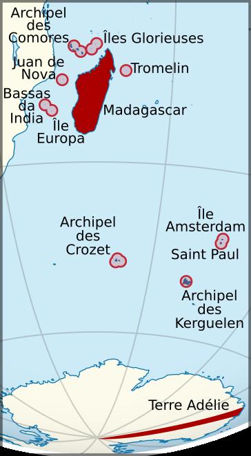 Madagascar et dependances Map (1930)