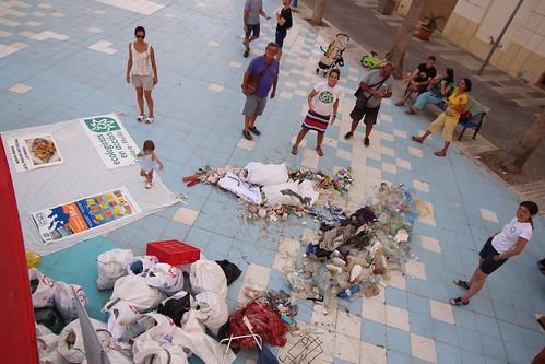 Limpieza de playa Trápana #Melilla
