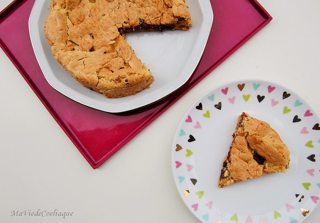 cookie géant sans gluten sans lactose choco-mirabelle