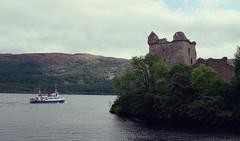Urquhart Castle & The Jacobite Queen