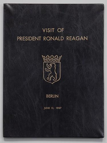 Reagan 1987 Berlin speech folder