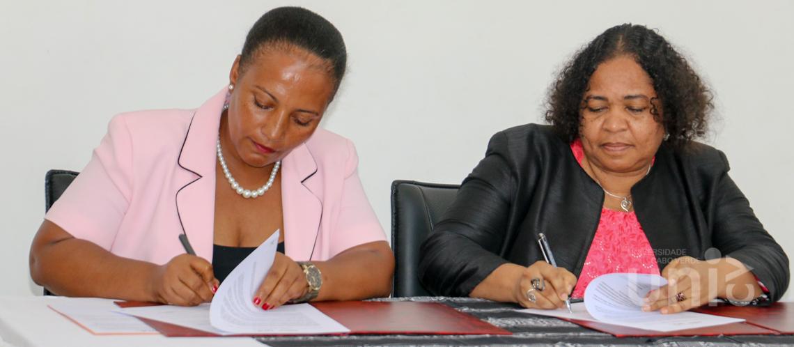 Uni-CV e Biblioteca Nacional de Cabo Verde formalizam parceria de cooperação