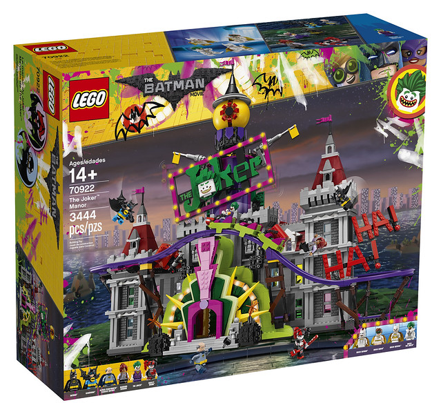 LEGO Batman 70922 Joker Manor now available with Black ...