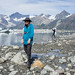 Exploring Lamplugh Glacier at low tide, Glacier Bay National Park by Matt-Zimmerman