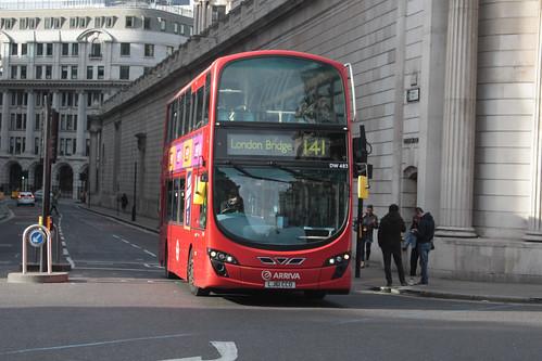 Arriva London DW483 LJ61CCO