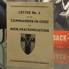 Letter No.3, 'On non-fraternisation'. #bunker #openhouse