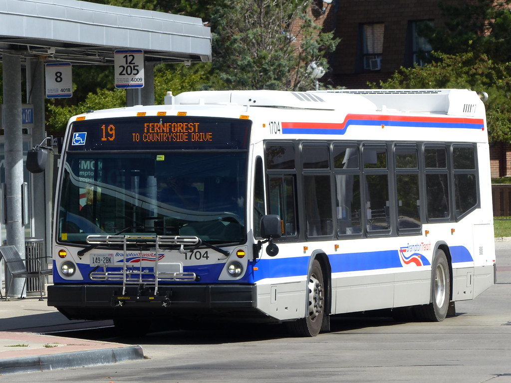 Brampton Transit #1704
