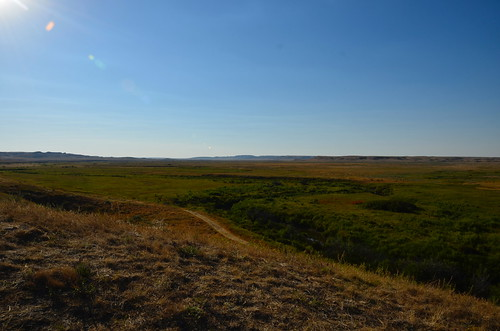 Grasslands West ravine view