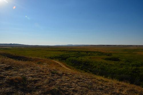 Grasslands West ravine view