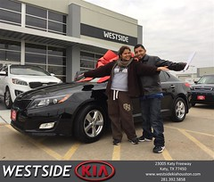 #HappyBirthday to Ever Jr from Luis Espinoza at Westside Kia!