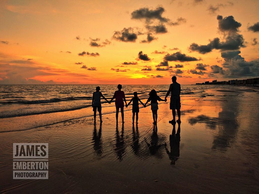 The Golden Hour | Photo taken at Madeira Beach, Florida on t