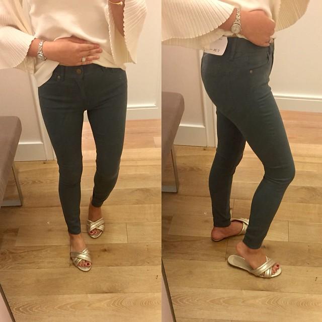 LOFT Leggings in Sateen Five Pocket in Marisa Fit, size 26/2P