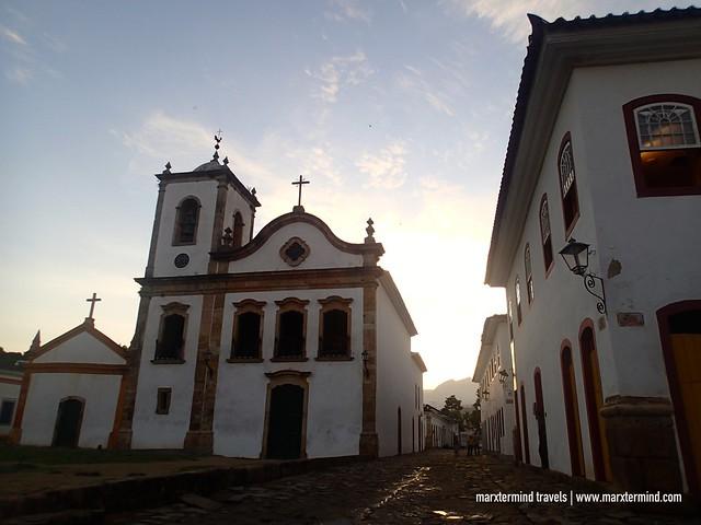 Capela de Santa Rita Paraty, Brazil