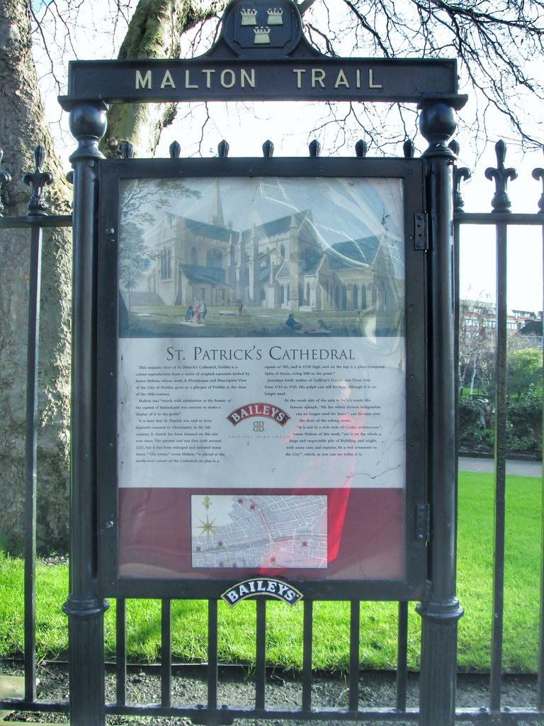 St Patricks Cathedral Dublin Sign