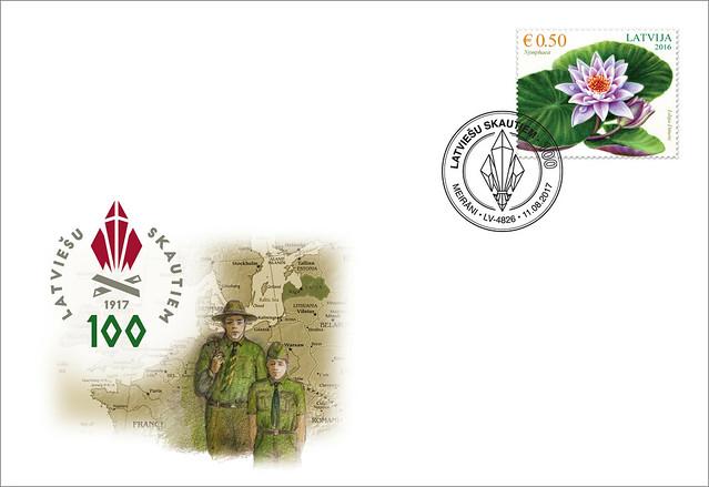 Aploksne - Skautismam Latvijā 100