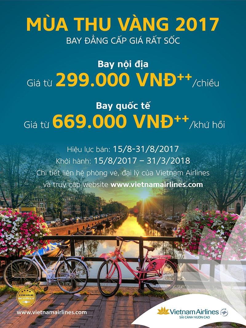 Vietnam Airlines - Mùa thu Vàng 2017