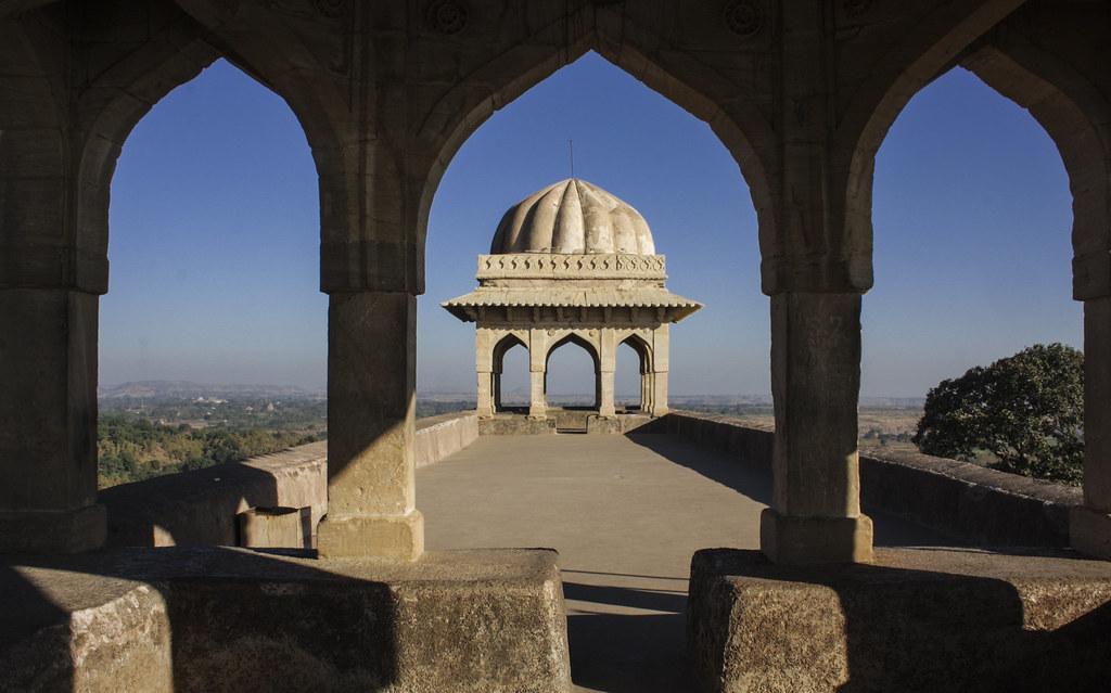 Rani Rupmati Pavilion in Mandu, Madhya Pradesh, India