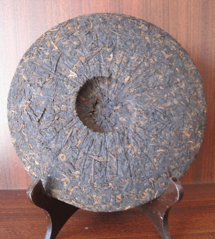 Free Shipping 2011 BoYou YinJu's Star Beend Cake 357g China YunNan MengHai Chinese Puer Puerh Ripe Tea Shou Shu Cha