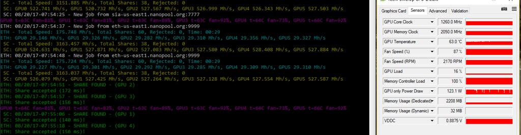 AMD Official blockchain compute drivers - my results — Ethereum
