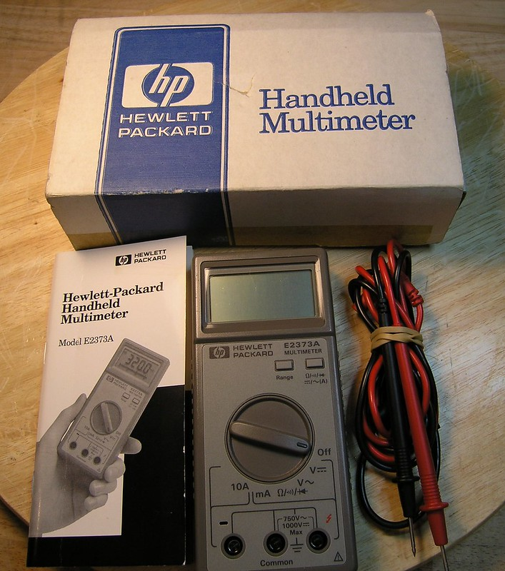 E2373a Multimeter manual