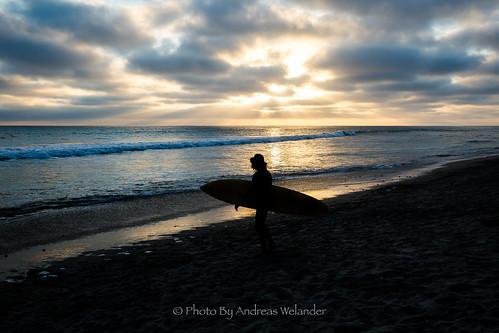photobyandreaswelander roadtrip usa pictures picturesoftheday canon canon5dmiii canonsweden canon5d california oacen hav beach strand nature surf surfing water waves wavesurfing la losangeles sunset sky sun