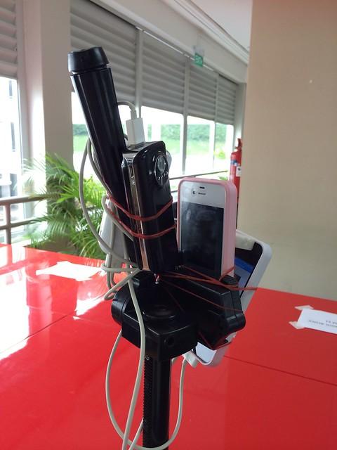 SJISV Mounted iPhones